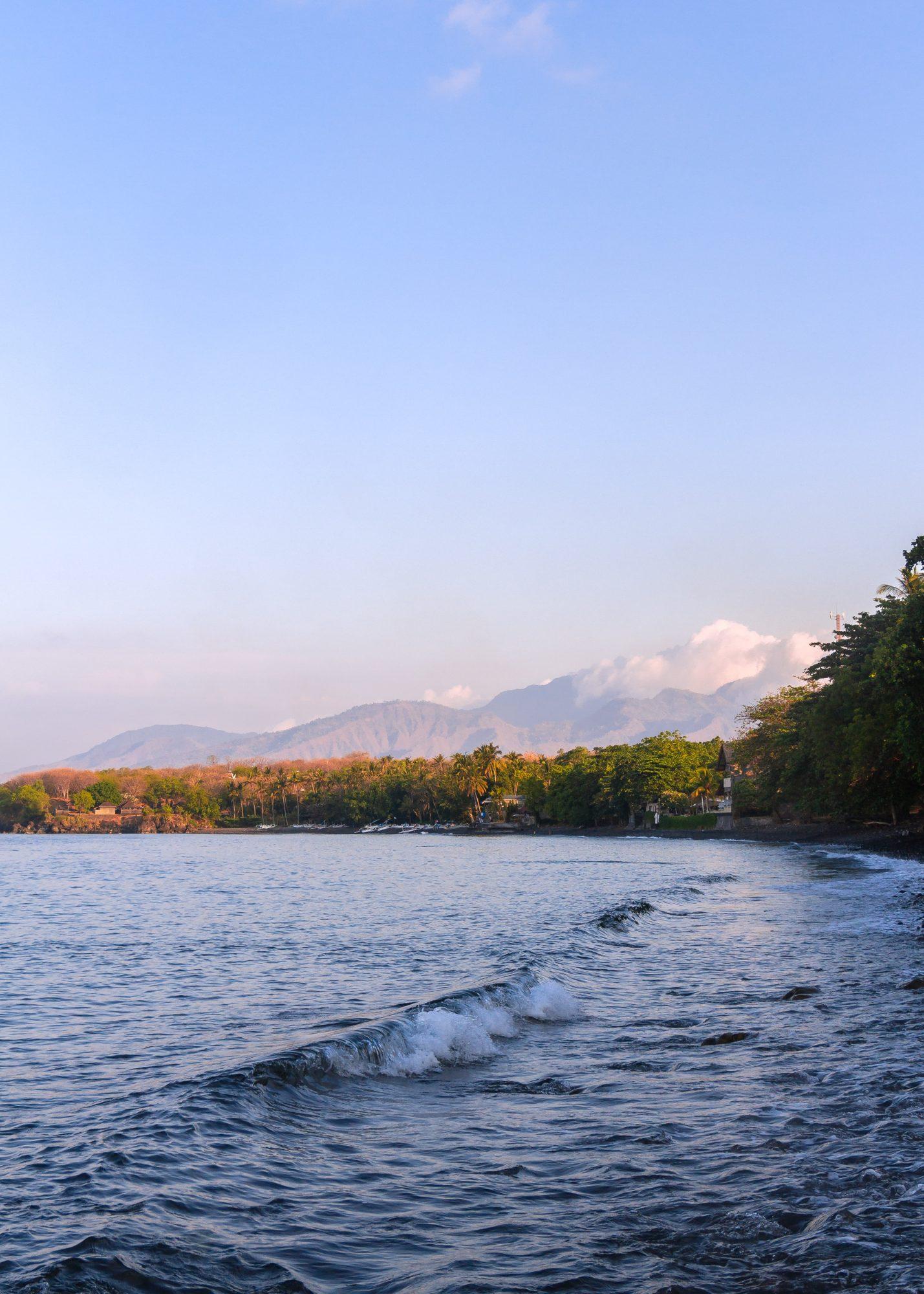 Buceo en Amed y tulamben, vista playa
