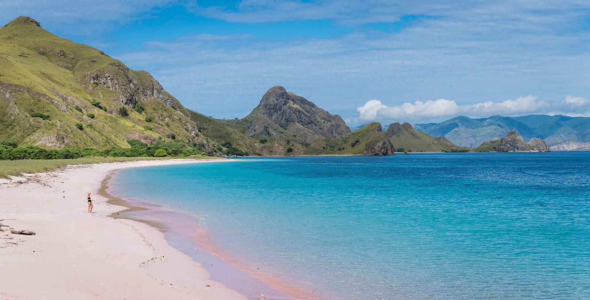 Buceo en Komodo, pink beach